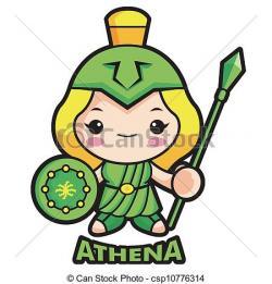 Goddess clipart athena