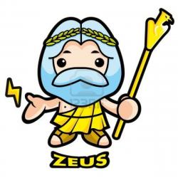 Zeus clipart cartoon