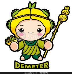 Goddess clipart demeter