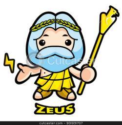 Zeus clipart cute