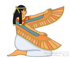 Goddess clipart egyptian