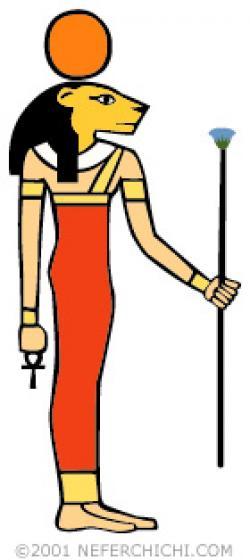 Goddess clipart egyption