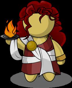Goddess clipart hestia
