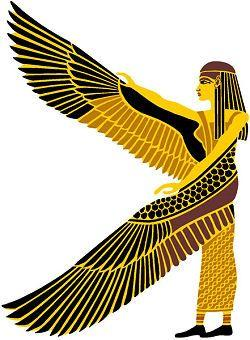 Wings clipart egyption