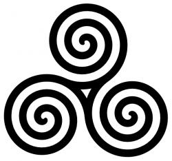 Spiral clipart vector art