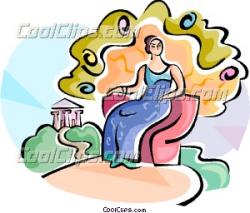 Goddess clipart venus goddess