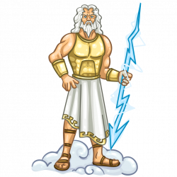 Zeus clipart animated