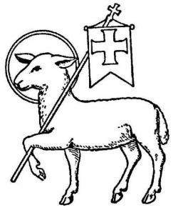 Drawn lamb catholic