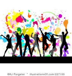 Danse clipart group dancing
