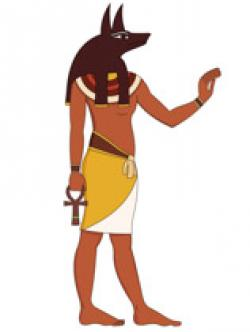 Anubis clipart greek