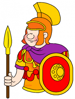 Rome clipart roman warrior