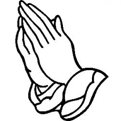 Religion clipart praying hand