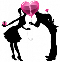 Romance clipart valentine couple