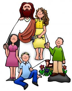 Jesus clipart Jesus And Children Clipart
