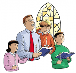 Religion clipart church person
