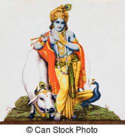 Krishna clipart hindu god