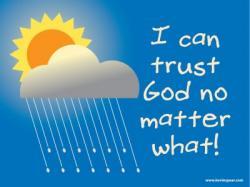 Gods clipart trust