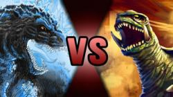Godzilla clipart death battle