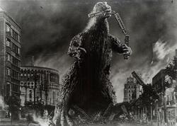 Godzilla clipart destroys tokyo