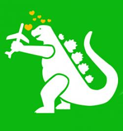 Godzilla clipart giant