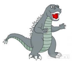 Godzilla clipart original
