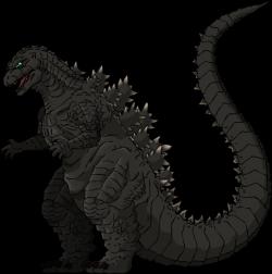 Godzilla clipart transparent