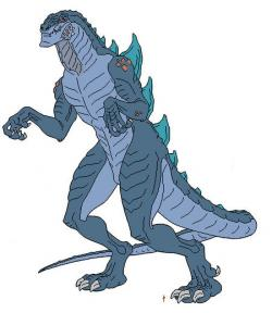 Godzilla clipart zilla