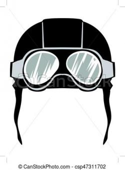 Goggles clipart aviation