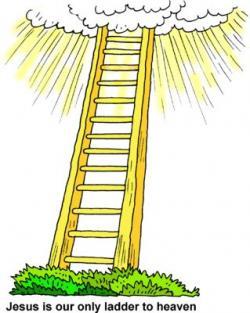 Gold clipart ladder