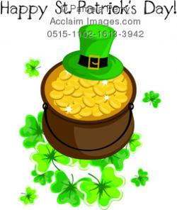 Coin clipart st patricks day