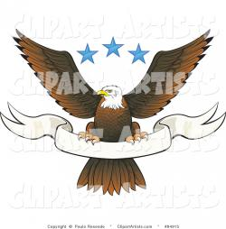 White-tailed Eagle clipart spread wing