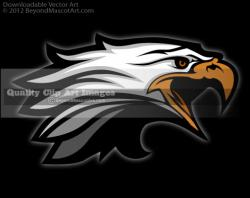 Eagle clipart diving