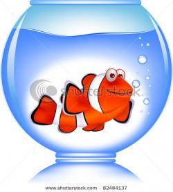 Clownfish clipart goldfish