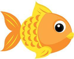 Gold Fish clipart ikan