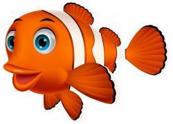 Clownfish clipart big fish