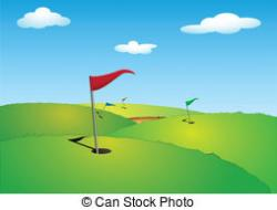 Golf Course clipart golf green