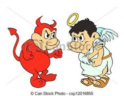 Good Vs Evil Clipart