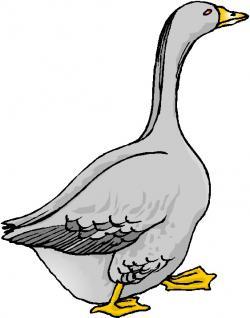 Footprint clipart goose