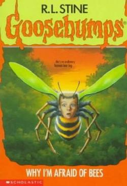 Goosebumps clipart afraid