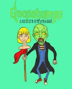 Goosebumps clipart anxiety