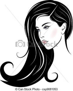 Women clipart pretty lady