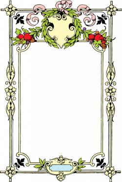 Gorgeus clipart decorative frame