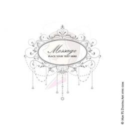 Gorgeus clipart digital frame