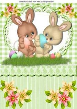 Gorgeus clipart easter card