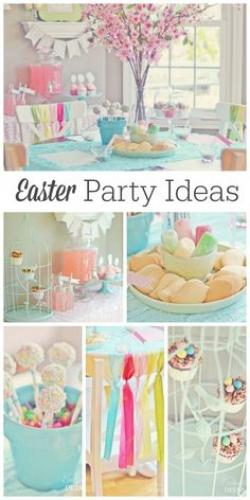 Gorgeus clipart easter party