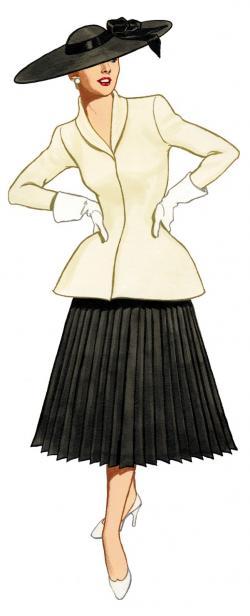 Gorgeus clipart fashion lady