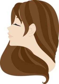 Gorgeus clipart long hair