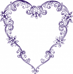 Pagan clipart vintage heart