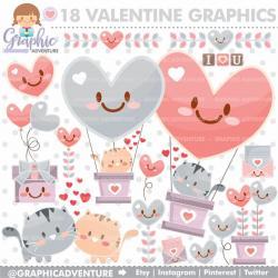 Pink Eyes clipart valentine