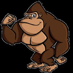 Banana clipart gorilla